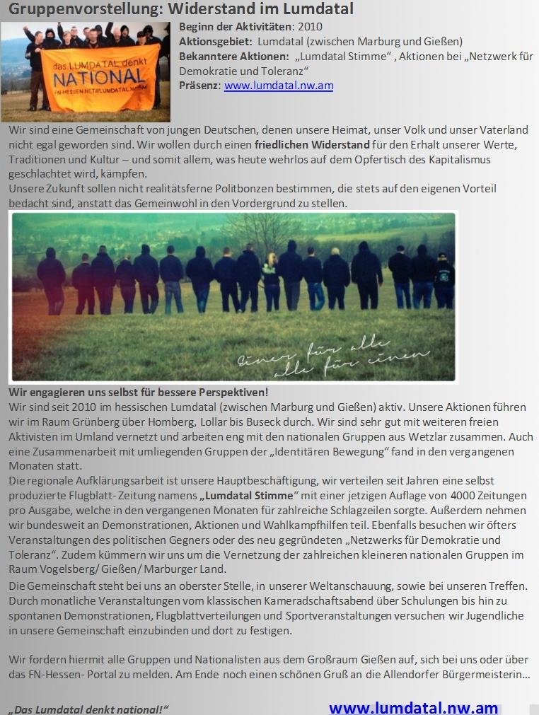 Antifaschismus Nazis In Der Region Kreis Gießenvogelsberg
